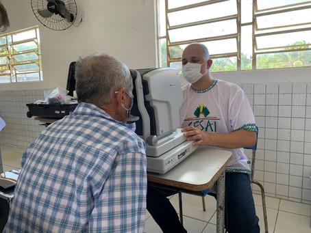 Ação de saúde DSEI Potiguara