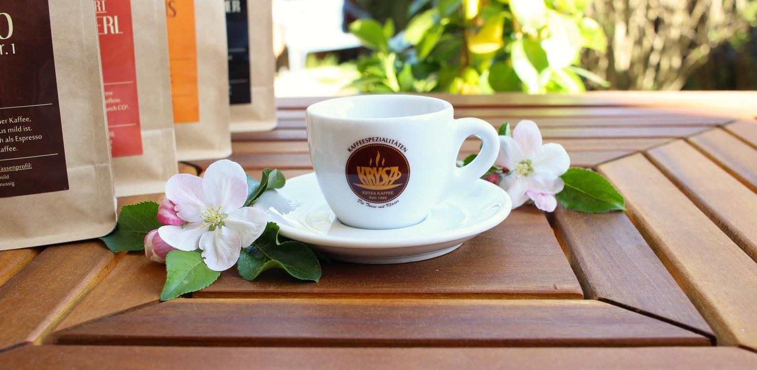 Kaffeetasse mit Logo