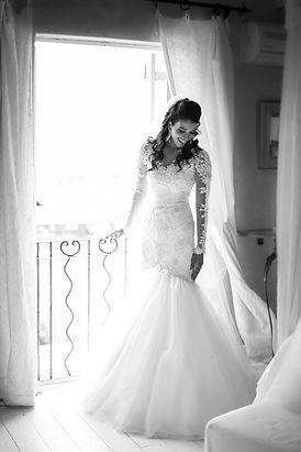 bride getting ready portrait photographed by Zandri du Preez Photography Wedding Photographer Cape Town