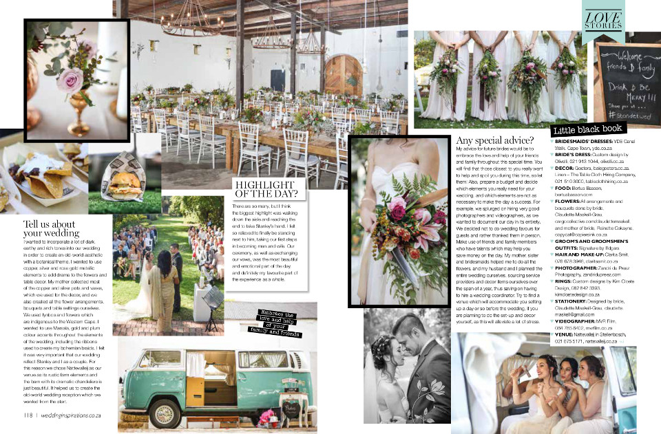 Real Weddings Details and Decor photographed by Zandri du Preez Photography Wedding Photographers Cape Town