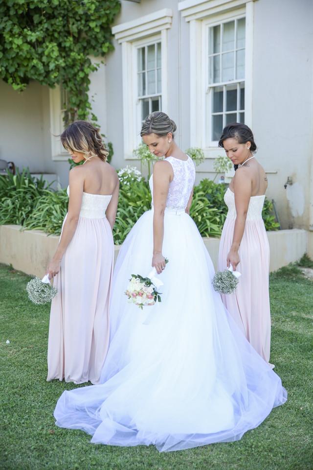 bride bridesmaids wedding photographer