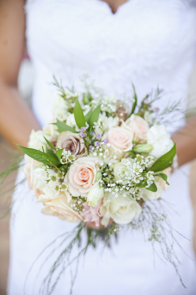 Beautiful bridal flowers wedding photographer cape town
