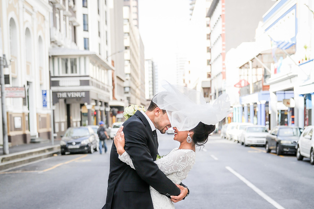 Wedding Photographer Cape Town Long street romantic