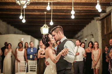 wedding first dance kissing beautiful romantic photographed by Zandri du Preez Photography Wedding Photographer Cape Town