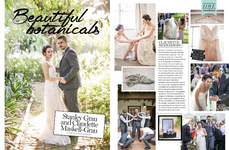 Stellenbosch Wedding Magazine Feature photographed by Zandri du Preez Photography Wedding Photographers Cape Town