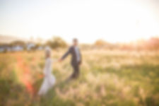 bride and groom in field photoshoot wedding photographers cape town