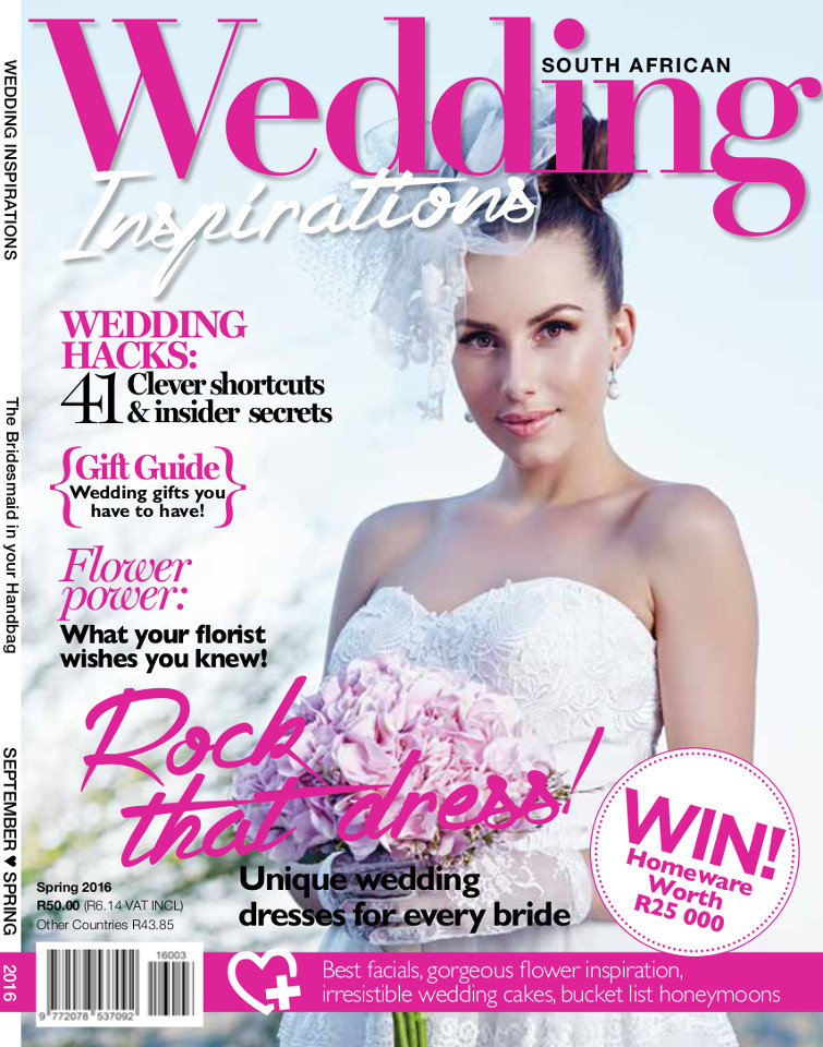 Featured in Wedding Inspirations Magazine Zandri du Preez Photography Wedding Photographers Cape Town