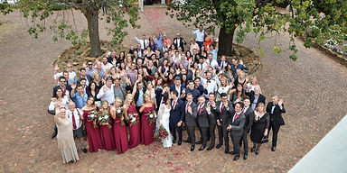 Family group wedding photo photographed by Zandri du Preez Photography Wedding Photographer Cape Town