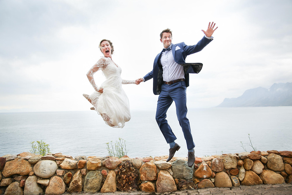 fun wedding photographers cape town