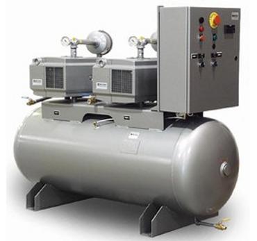 Vacuum pump system for medical purposes