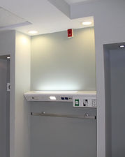 bedhead unit for medical gases