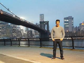 Eduardo Braz se apresenta em Nova York