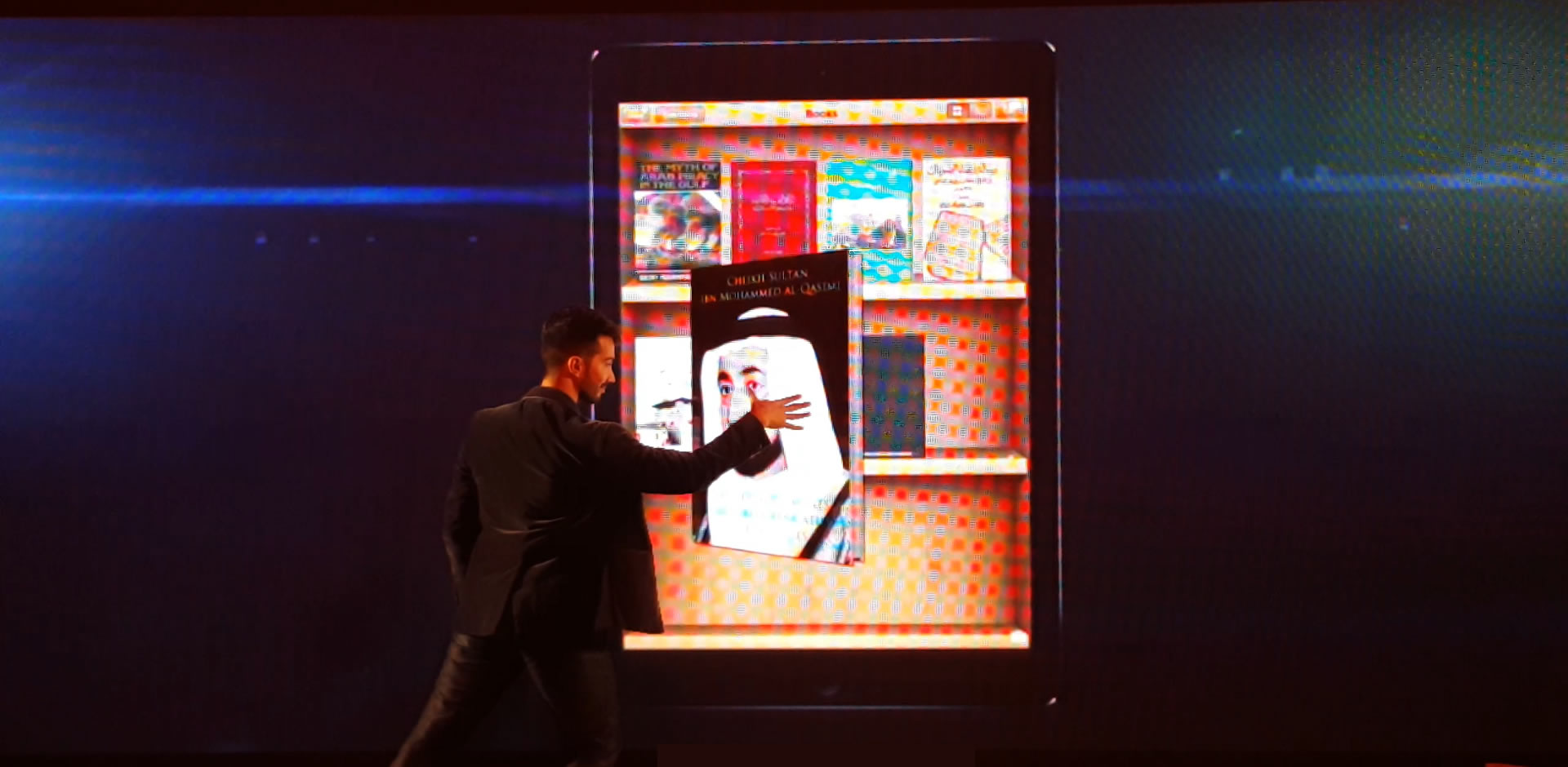 The iPad Magician -Paris event