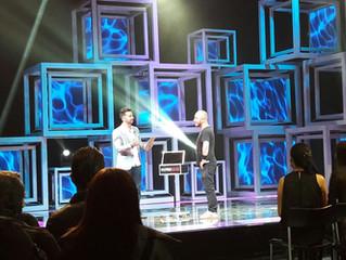 Eduardo Braz se apresenta na TV Colombiana
