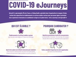 COVID-19 eJourneys : un projet de valorisation des initiatives innovantes pour les personnes âgées