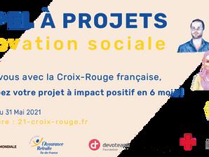 Lancement de l'appel à projets de l'accélérateur 21 de la Croix-Rouge Française