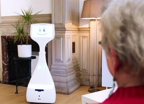 Domirob, un nouveau programme de recherche sur l'usage de robots de téléprésence sociale par les sen