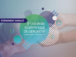 Annulation de la 3e Journée Scientifique de Gérond'if.