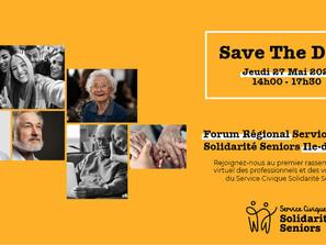Gérond'if participe au Forum Service Civique Solidarité Séniors Île-de-France