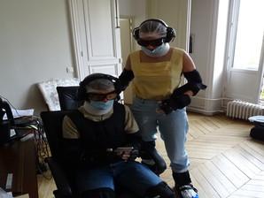 Les équipes de la Ville de Paris dans la peau de personnes âgées