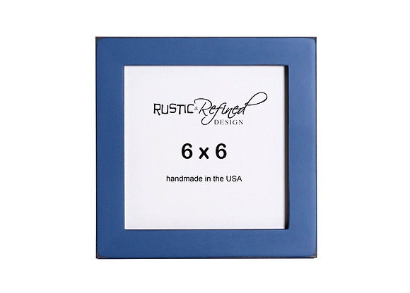 """6x6 1"""" Gallery Picture Frame - Colonial Blue"""