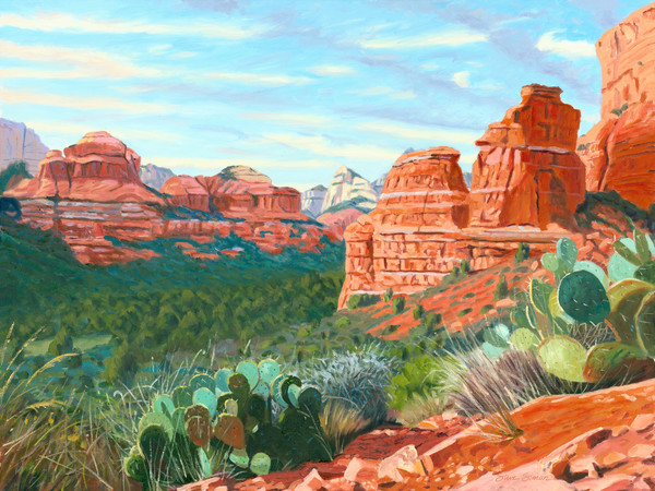 painting by Steve Simon
