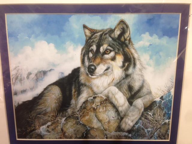 Mountain Wolf--Artist:  June Payne Hart, Booth 12B