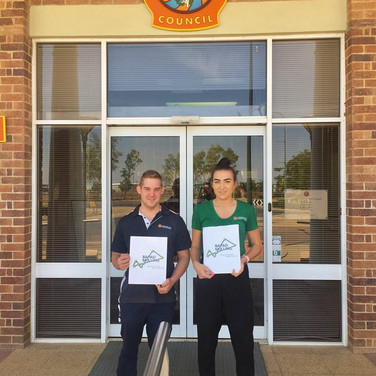 LRC Business Graduates - Jack & Aimee 2018