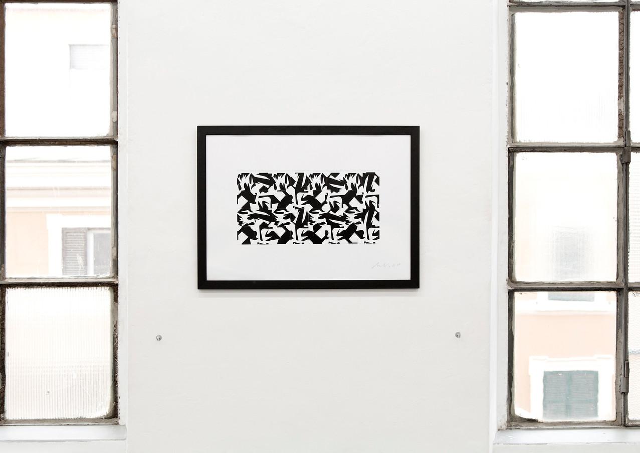 Sergio Lombardo. Recent Works on Paper Numero Cromatico