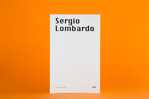 Sergio Lombardo - Recent works on paper