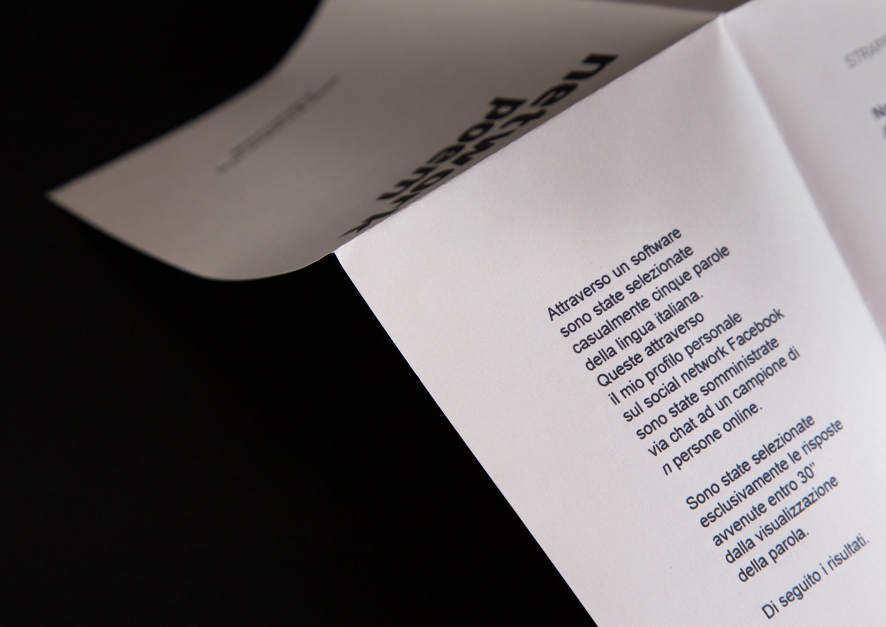 Manuel Focareta - Network Poem - estratt
