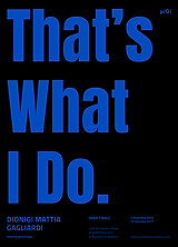POSTER_that's what i do.png
