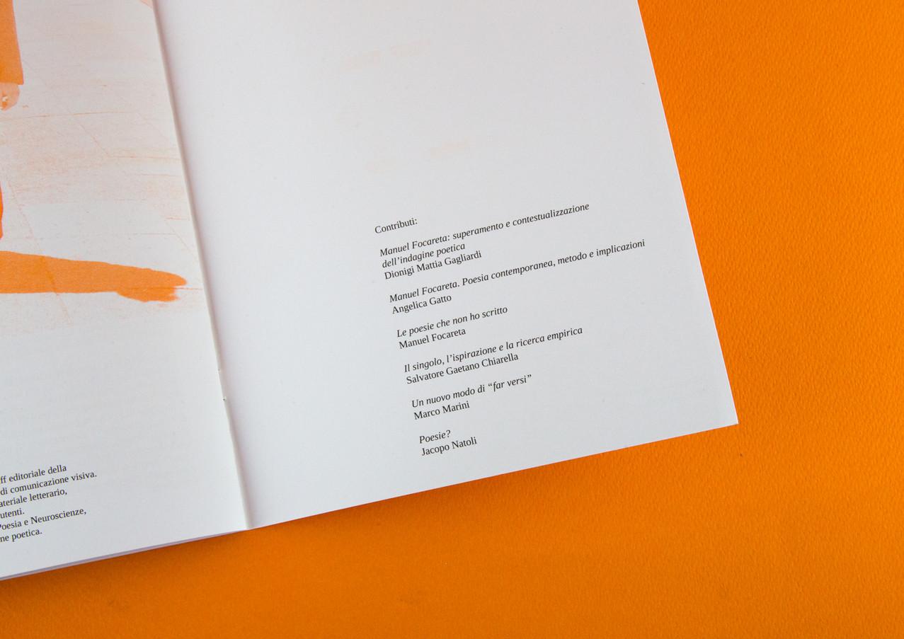 Manuel Focareta - Poesie catalogo mostra