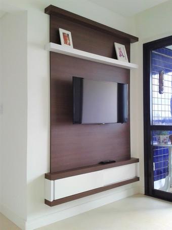 Apartamento C&C - Painel TV