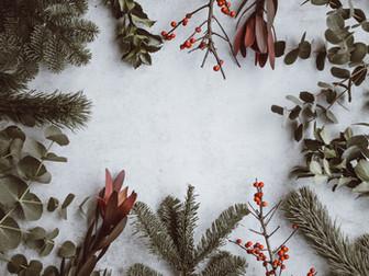 Talveen ja jouluun sopivia visuaalisia elementtejä