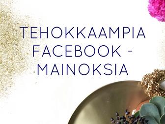 TEHOKKAAMPIAFACEBOOK-MAINOKSIA