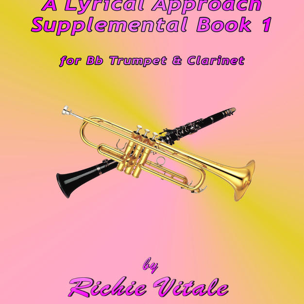 Bb Tpt & Clarinet Front Cover Sup Book 1