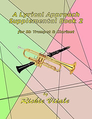 Bb Tpt & Clarinet Front Cover Sup Book 2