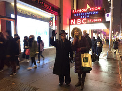 Richie & Michelle at Rockefeller Ctr