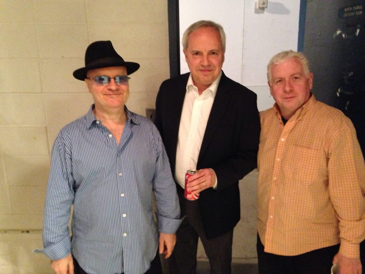Bud Burridge, Tony Kadleck and me