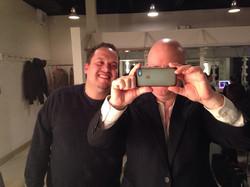 Selfie with Ivan Renta