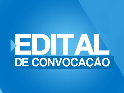 Edital de Convocação para Assembleia Geral.