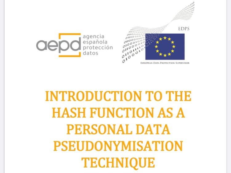 Pseudonimizzzione e tecniche di hash