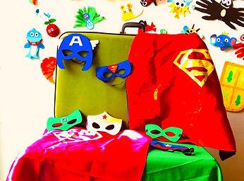Feestkoffer Superhelden