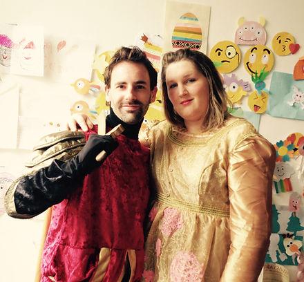 Ridder Thomas en Prinses Isabella
