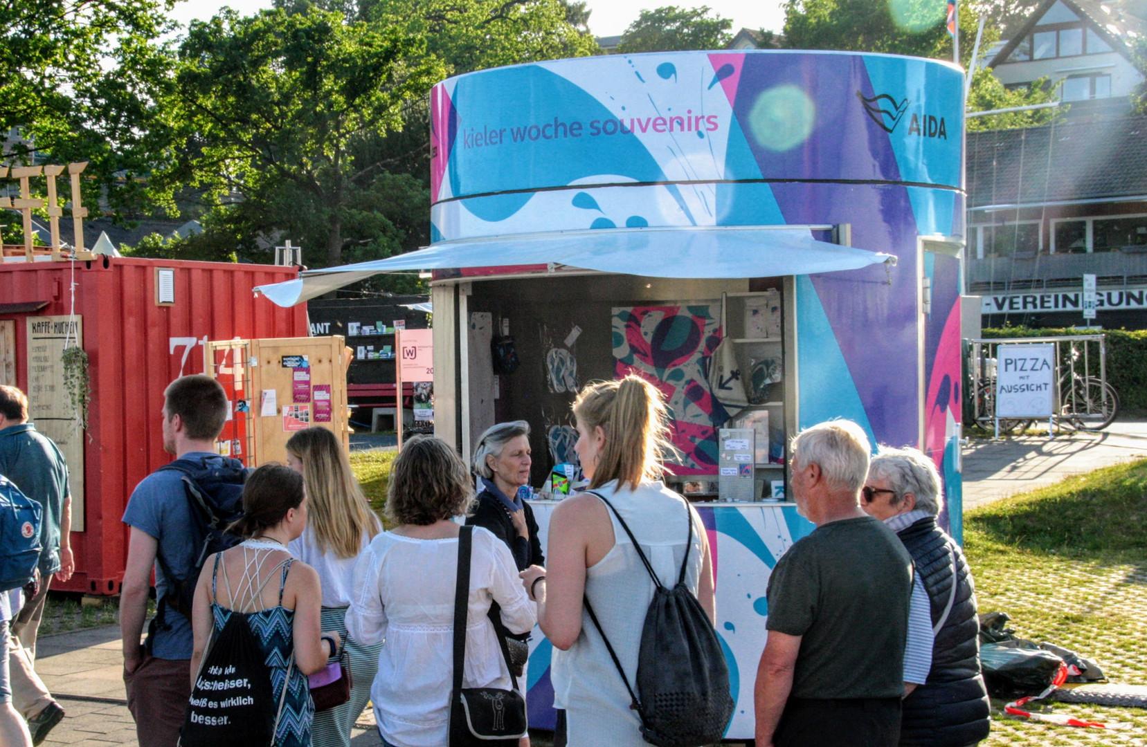 #Face-to-Face Umsetzung zum größten Event in Deutschland, Kieler Woche 2019