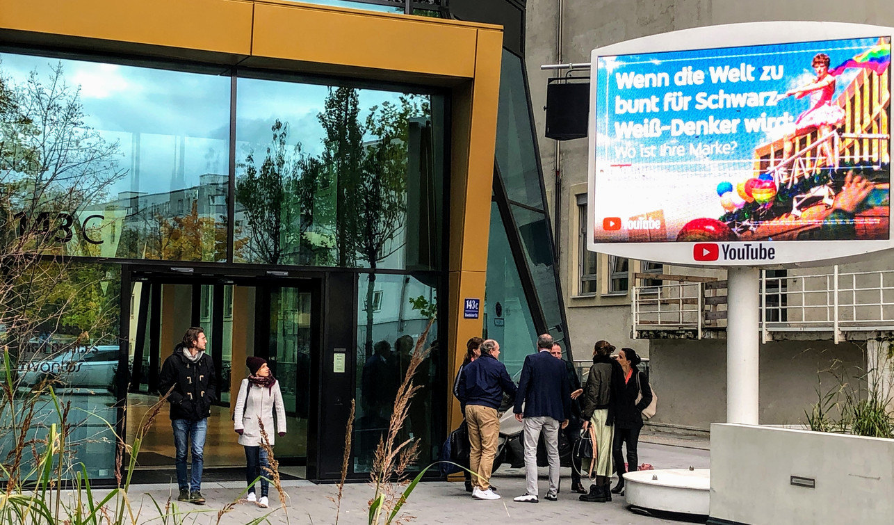DOOH am Place to by zur Horizont Video Day 2019 in München