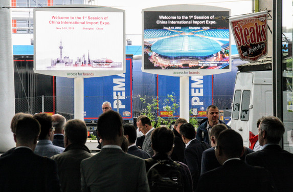 DOOH UMSETZUNG HANNOVER MESSE ACCESSFORBRANDS