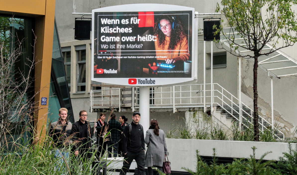 YOU TUBE am Place to by zur Horizont Video Day 2019 in München
