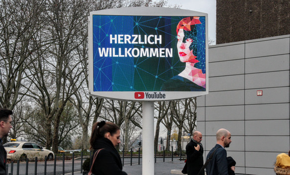 DEUTSCHER MARKETING TAG DÜSSELDORF 2019, GOOGLE WITH YOUTUBE